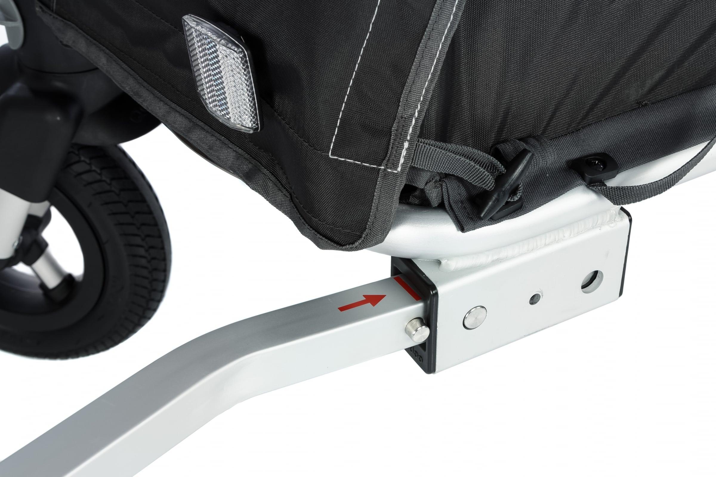 pałąk łączący przyczepkę Qeridoo Sportrex z rowerem