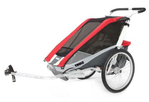 Thule Chariot Cougar 1 - wypożyczalnia przyczepek rowerowych itinere