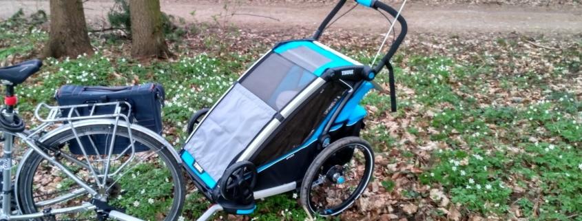 Przyczepka rowerowa Thule Sport 1 - Wypożyczalnia Itinere