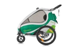 przyczepka rowerowa Qeridoo Kidgoo 2 sport | Wypożyczalnia przyczepek rowerowych Itinere