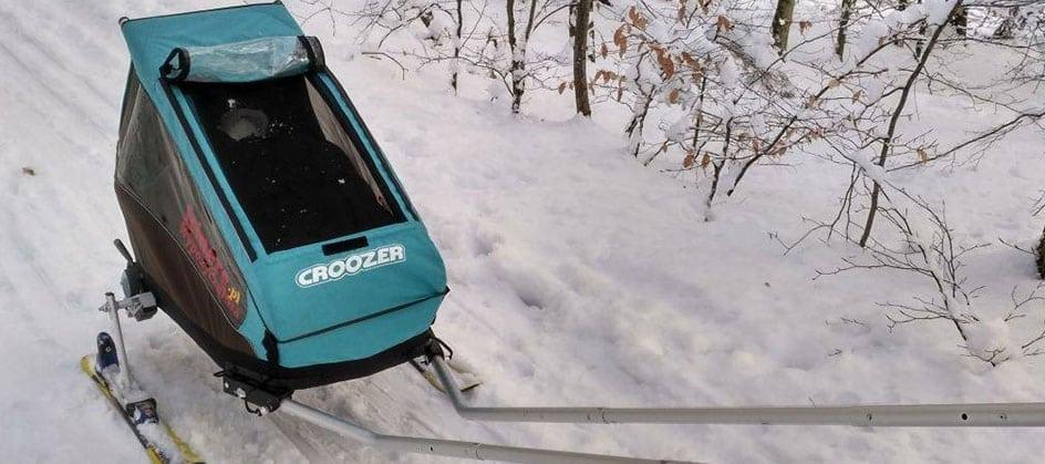 Test zestawu Croozer Ski
