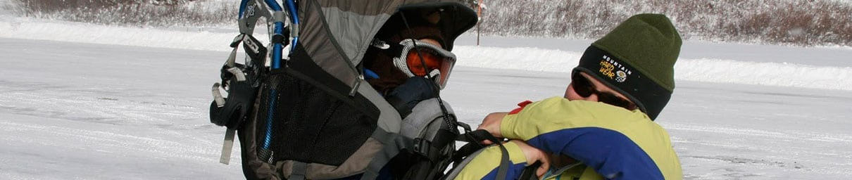 Nosido turystyczne Deuter Kid Comfort III z wypożyczalni Itinere.pl