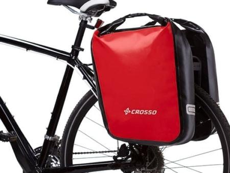 Sakwy rowerowe Crosso Dry 60l - Wypożyczalnia Itinere