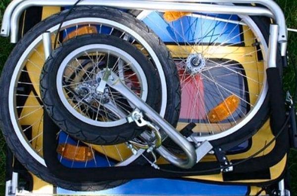 Przyczepka rowerowa - wózek