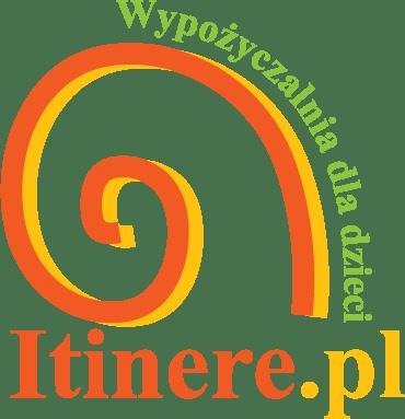 Logo - wypożyczalnia przyczepek rowerowych i sprzętu turystycznego dla dzieci