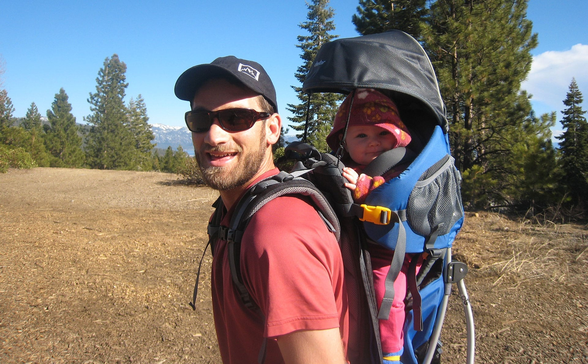 Tourist baby carriers