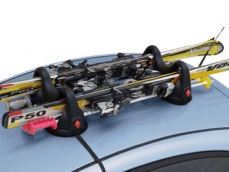 Bagażnik magnetyczny na narty