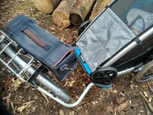 Mniejszy promień skrętu dzięki zmienionemu mocowaniu do roweru