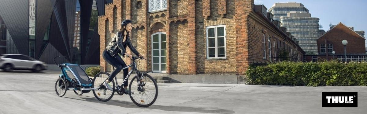 Wypożyczalnia przyczepek rowerowych Thule Sport 1 | Itinere Gdańsk