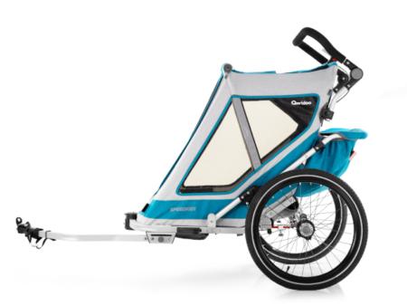 Przyczepka Qeridoo Speedkid w wersji rowerowej