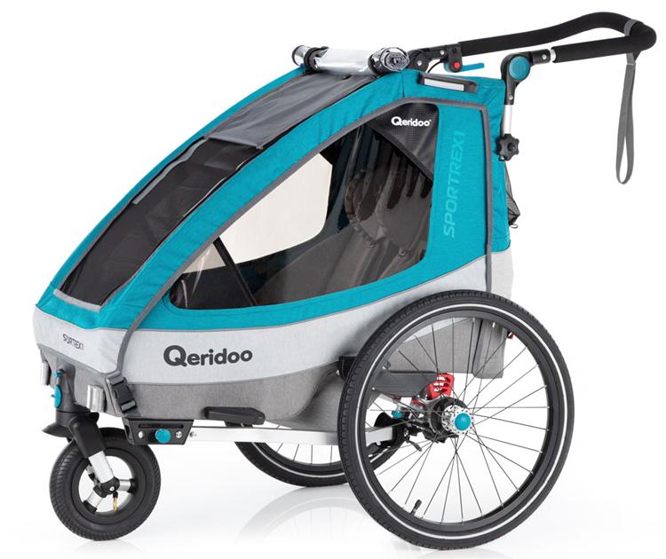 Wózek do roweru Qeridoo Sportrex 1