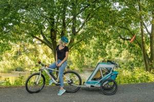 Qeridoo Speedkid 2 - Wypożyczalnia przyczepek rowerowych