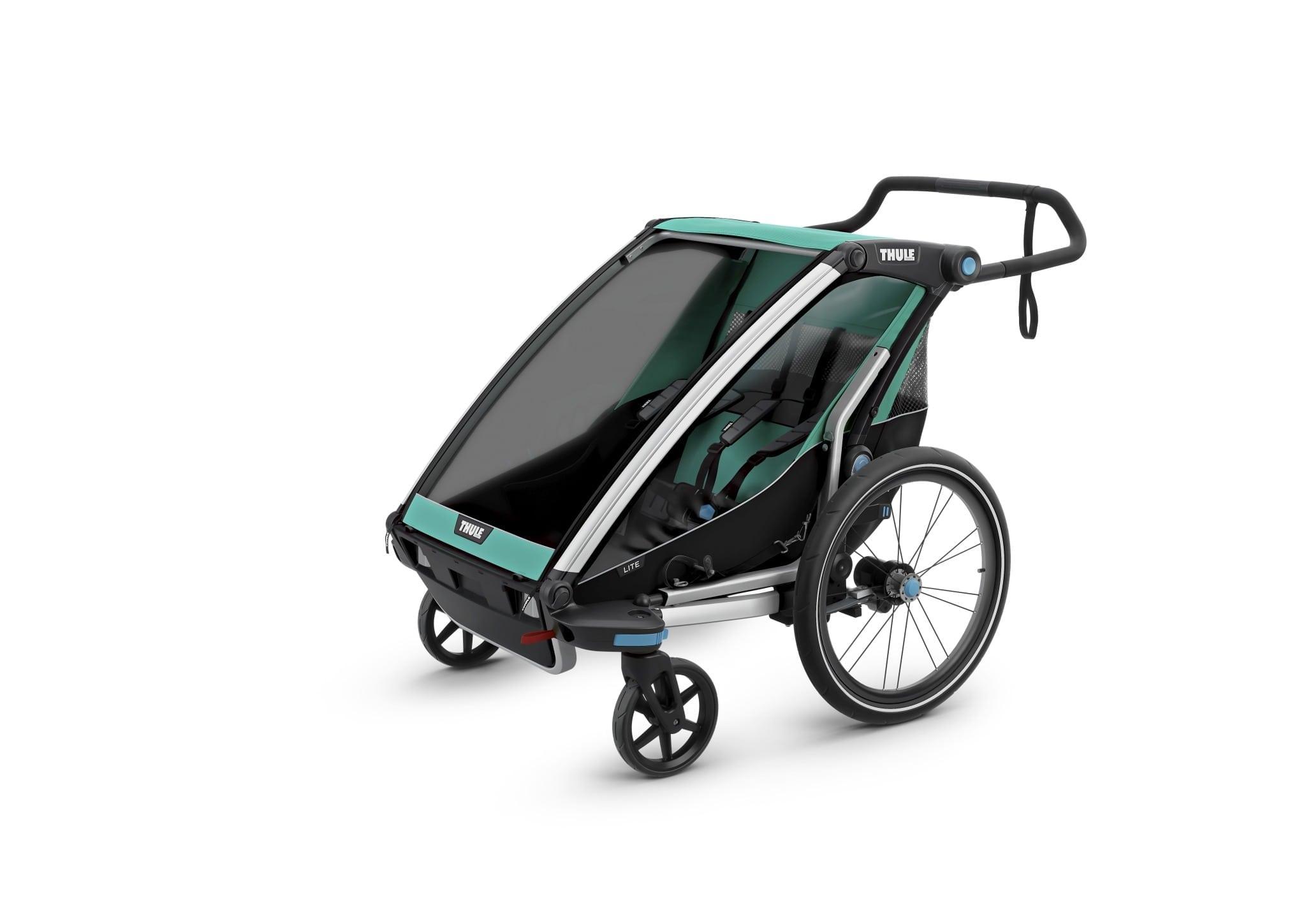 Thule lite 2 wózek - Wypożyczalnia przyczepek rowerowych Itinere