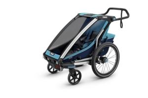 Wózek rowerowy Thule Cross 1 w wersji spacerowej