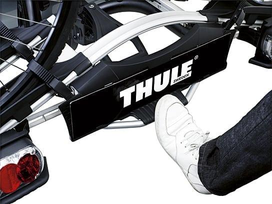 Proste składanie platformy rowerowej Thule
