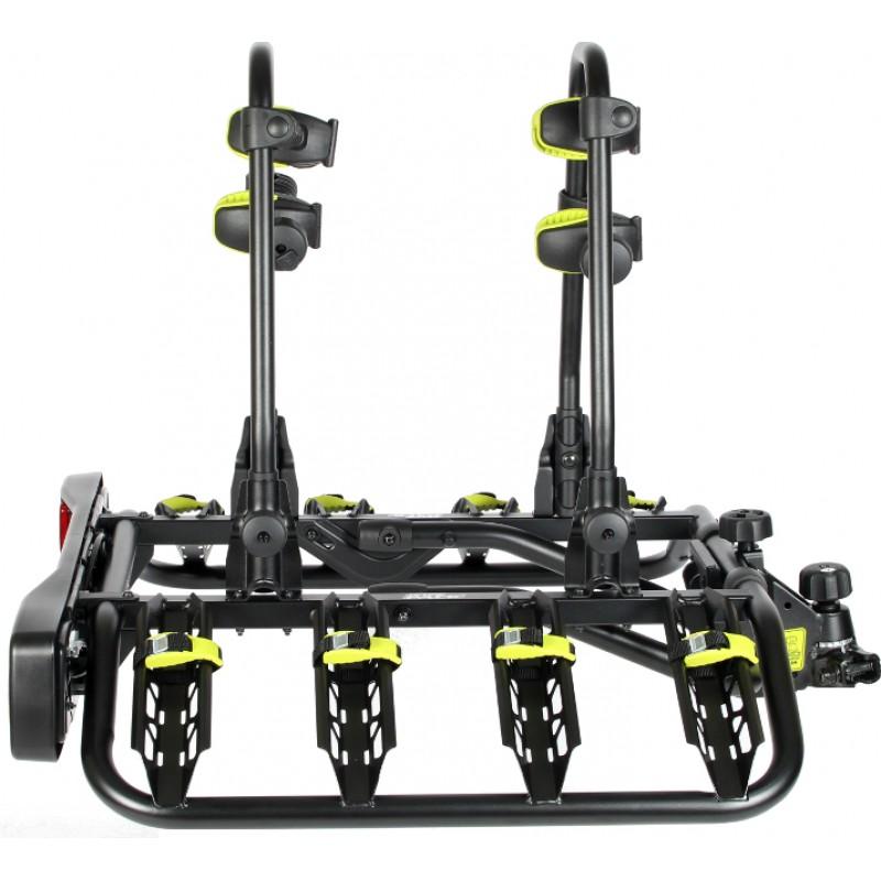 Wypożyczalnia platform rowerowych poleca bagażnik Inter pack quattro