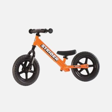 Pomarańczowy rowerek biegowy Striders