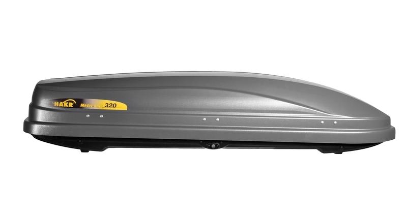 Box na dach samochodu firmy Hakr wypożyczalnia Itinere