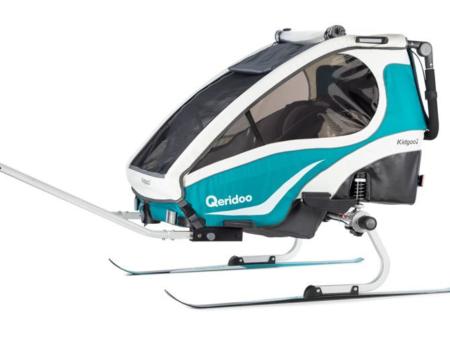 Wypożyczamy zestaw do uprawiania narciarstwa biegowego z przyczepkami qeridoo
